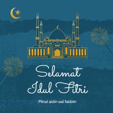 Kumpulan Kartu Ucapan Lebaran Selamat Hari Raya Idul Fitri ...